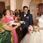internacionālas kāzas, Mežotnes pils, laulību ceremonija, tēvs un līgavainis kāzās, Kāzu Aģentūra