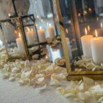 sveces kāzās, ziedlapiņas kāzās, vip kāzas