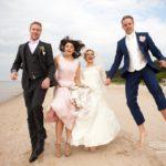 jautras kāzas, vedēji, fotosesija, internacionālas kāzas