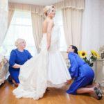 Kāzu rīts ,pucēšanās, līgava
