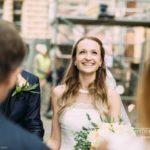 līgavas emocijas, pēc ceremonijas
