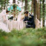 romantiskais galdiņš, vēstules, mežs