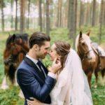 kāzu fotosesija, romantisks pāris