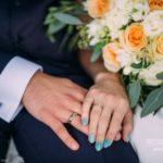 laulību gredzeni, kāzu manikīrs