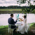 romantiskais galdiņš, upe