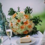 kāzu pušķis, laša krāsa