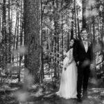 Kāzas gaidot bērniņu, fotosesija mežā, līgava gaidībās