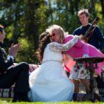 Olga Rajecka kāzās